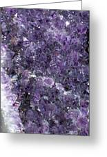 Amethyst Geode II Greeting Card