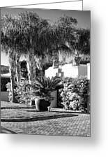 Amir Drive Bw Marrakesh Palm Springs Greeting Card