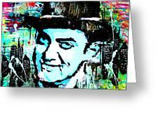 Amir Khan Dhoom 3 Pop Art By Minesh Pankhania Greeting Card