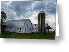 Amish Barn Greeting Card