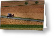 Amish Country Lancaster Pennsylvania Greeting Card