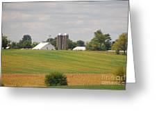 Amish Farm 2 Greeting Card