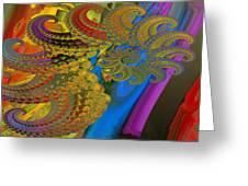 Ammonite 4 Greeting Card by Soumya Bouchachi