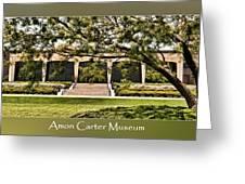 Amon Carter Museum Greeting Card