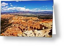 Among The Canyon Greeting Card