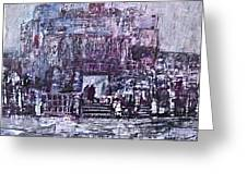 Among The Ruins Greeting Card