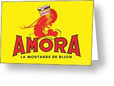 Amora Greeting Card