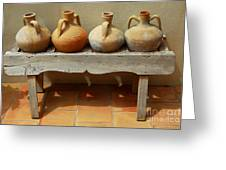 Amphoras  Greeting Card by Elena Elisseeva