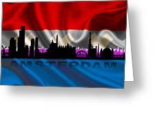 Amsterdam City Greeting Card