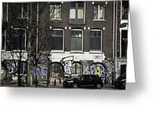 Amsterdam Graffiti Greeting Card