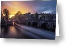 Amsterdam - Keizersgracht Greeting Card