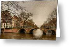 Amsterdam Panorama Greeting Card