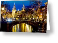 Amsterdam-rijkmuseum Greeting Card