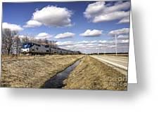 Amtrak 66  Greeting Card