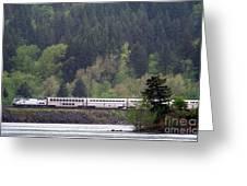 Amtrak Westbound Greeting Card