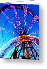 Amusement Park Rides 1 Greeting Card