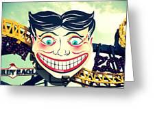 Amusement Smile Greeting Card