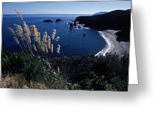An Aerial View Of The Ocean, New Greeting Card