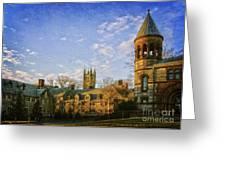 An Afternoon At Princeton Greeting Card