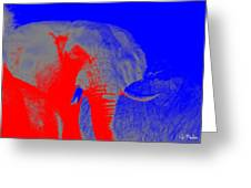 an Afternoon in Africa Greeting Card