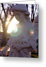An Angel For Walter Greeting Card