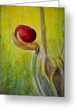 An Apple For U Greeting Card