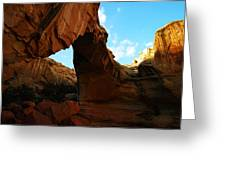 An Arch At Capital Reef Greeting Card