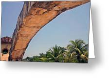 An Arch In Cozumela Greeting Card