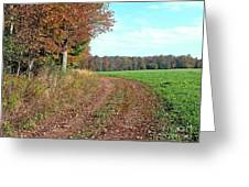An Autumn Day Greeting Card