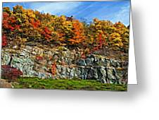 An Autumn Day Painted Greeting Card