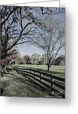 An Autumn Stroll Greeting Card by Joe McCormack Jr