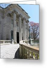 An Elegant Newport Mansion Greeting Card