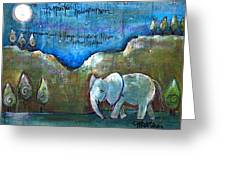 An Elephant For You Greeting Card