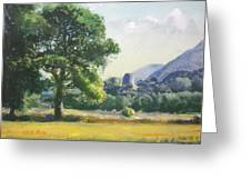 An Englishman's Castle Greeting Card