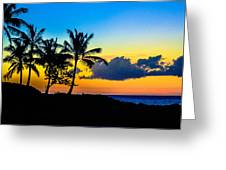 An Evening At Ko Olina Greeting Card