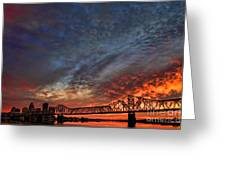 An Evening In Louisville Greeting Card