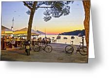 An Evening In Rovinj - Croatia Greeting Card