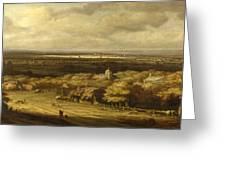 An Extensive Landscape Greeting Card