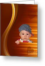 An Image Of A Photograph Of Your Child. - 05 Greeting Card