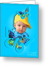 An Image Of A Photograph Of Your Child. - 06 Greeting Card