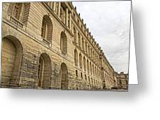 An Imposing View Of The Palace Greeting Card