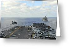 An Mh-60s Sea Hawk Takes Greeting Card