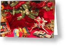 An Old Fashioned Christmas - Santa Claus Greeting Card