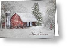 An Old Fashioned Merry Christmas Greeting Card