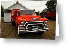 An Old Gmc  Greeting Card by Jeff Swan