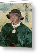 An Old Man, Celeyran, 1882 Oil On Canvas Greeting Card