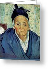 An Old Woman Of Arles Greeting Card