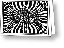 An Optical Illusion Greeting Card