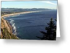 An Oregon View Point Greeting Card