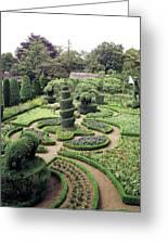 An Ornamental Garden Greeting Card